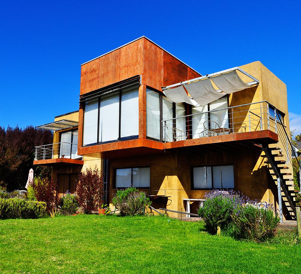 Casa moderna acero galvanizado