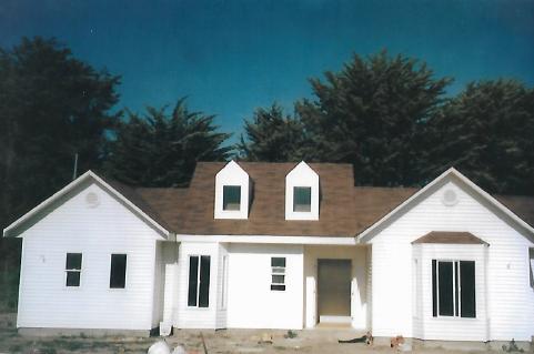 Casa americana estructura en madera Maintencillo